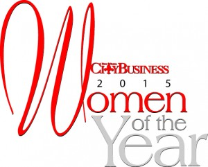 City Business 2015 Women Of The Year Logo - Angie Scott, Search Influence